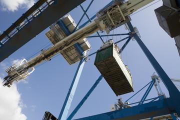 Limassol, Cyprus, dockside crane.