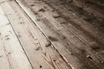 Alter Holzfußboden