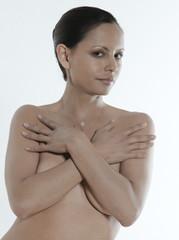 asian naked portrait woman