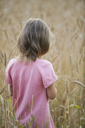 Little Girl in a Field