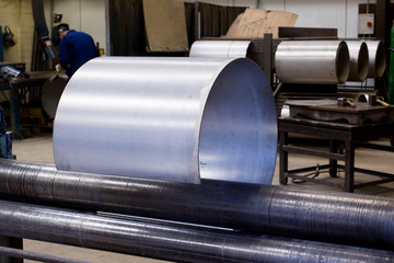 Metal tube fabrication