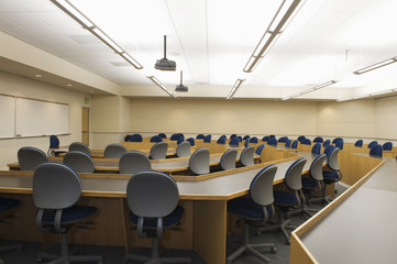 Modern lecture hall