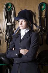 Female horseback rider