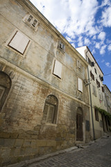 building exterior in piran slovenia