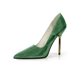 high heels grün