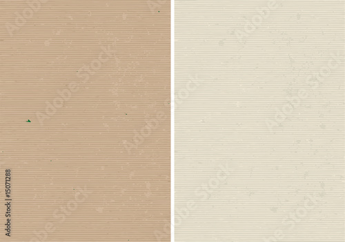 Rough lined and corrugated vector paper texture