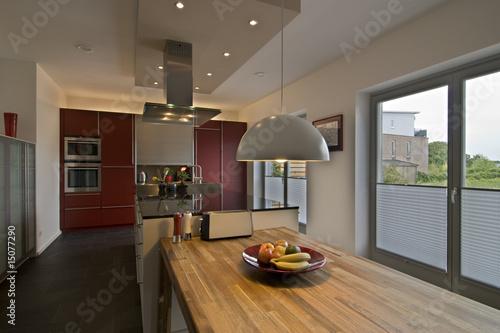 Leinwandbild Motiv küche