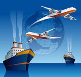 International transports poster