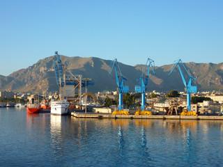 Hafen in Palermo Sizilien
