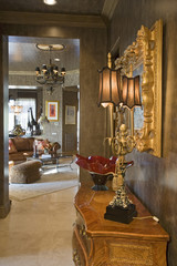 Luxurious old fashioned interior