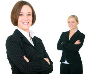 Smiling Successful Businessteam