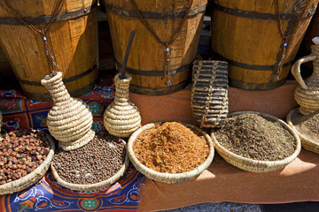Sharm el Sheikh, Egypt, spices on market