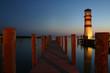 Abendstimmung beim alten Leuchtturm