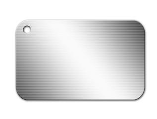 Chrome plaque