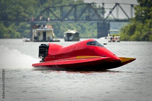 Foto op Plexiglas Water Motorsp. Boat racing