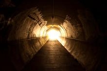 "Постер, картина, фотообои ""light at the end of the tunnel"""