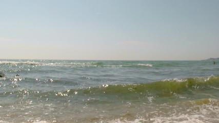 Tropical scenic beach