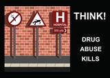 Anti-drug Message poster