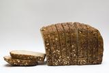 pan de molde con semillas poster