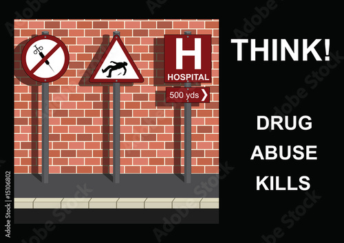 poster of Anti-drug Message