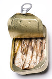 norwegian brisling sardines in can poster