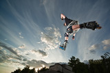 Fototapete Mann - Sportler - Sommersport