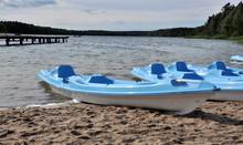 Niebieski kayak