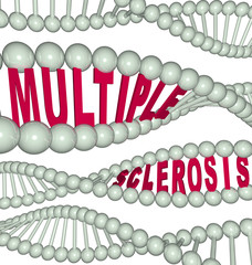 Multiple Sclerosis in DNA Strands