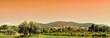 Leinwandbild Motiv Stitched Panorama du luberon
