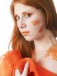 autumn style face-art