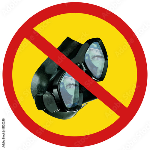 Prohibited diving