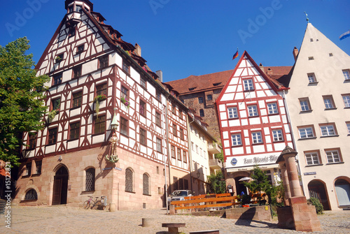 The old city, Nurnberg, Germany