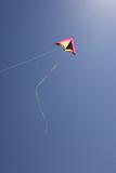 The relaxing hobby of kite flying. poster