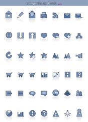 Vector Icons for Web Applications and for computer - PART2