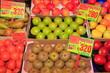 Obst und Gemüse, Marktstand, Spanische Früchte