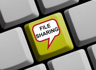 Filesharing online