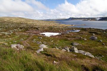 See in norwegischer Hochebene