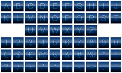 alfabet bouton