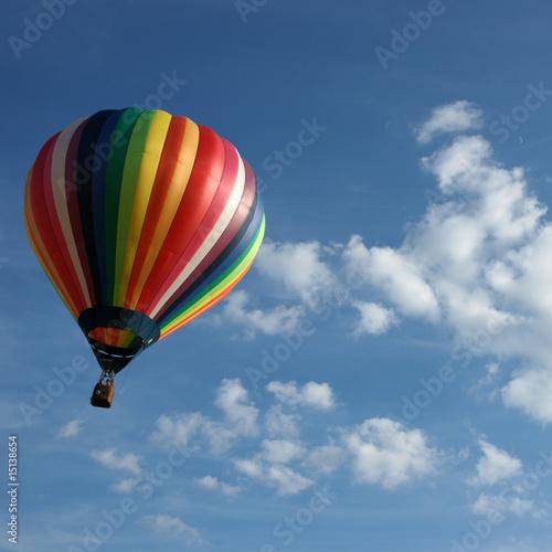 Canvas Ballon Vol libre