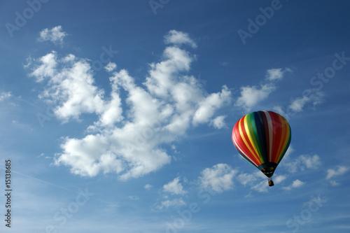 Fotobehang Ballon Ballon et couleurs