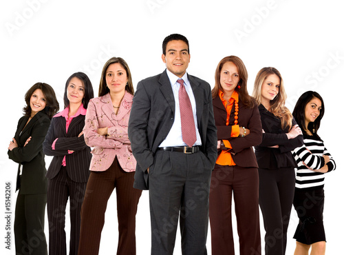 business man with women