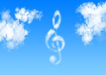 music wolke