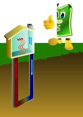 économies d'énergies, la géothermie
