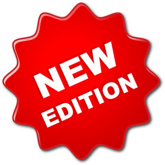 """""""NEW EDITION"""" stamp (red)"""