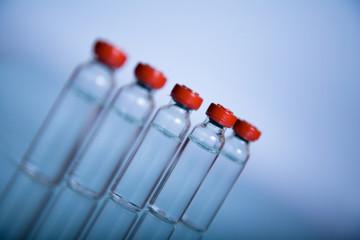 Vials for medicine or science