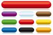 lot de boutons, médaillons et icônes vectoriels