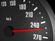 Tacho Abgeriegelt bei 250 km/h