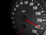 Tacho 300 km/h 01