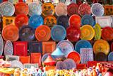 earthenware in the market - 15152836