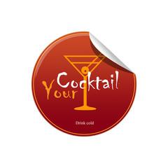 Sticker cocktail